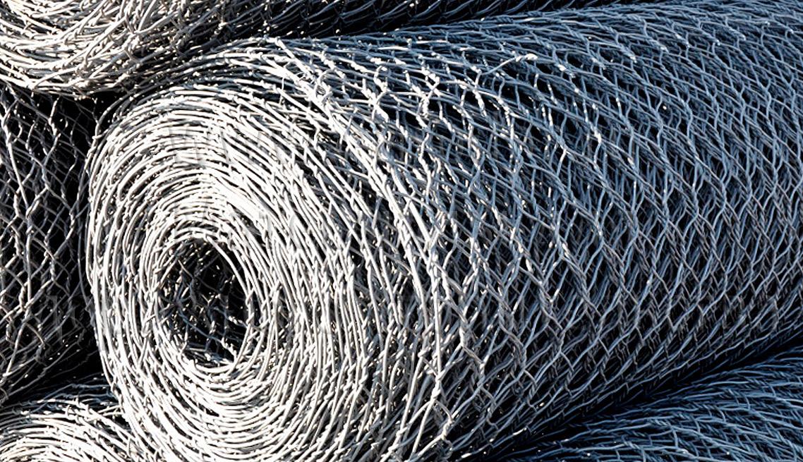 Габионная сетка рулоны