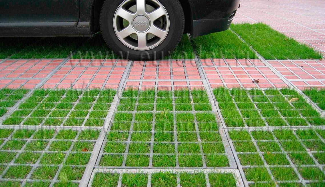 Пример газонной решетки