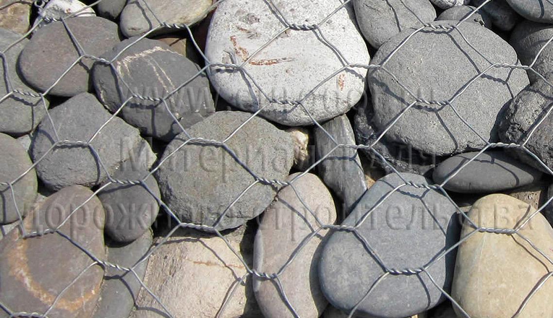 Камень для габионов, булыжник