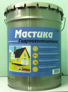 Мастика гидроизоляционная битумная