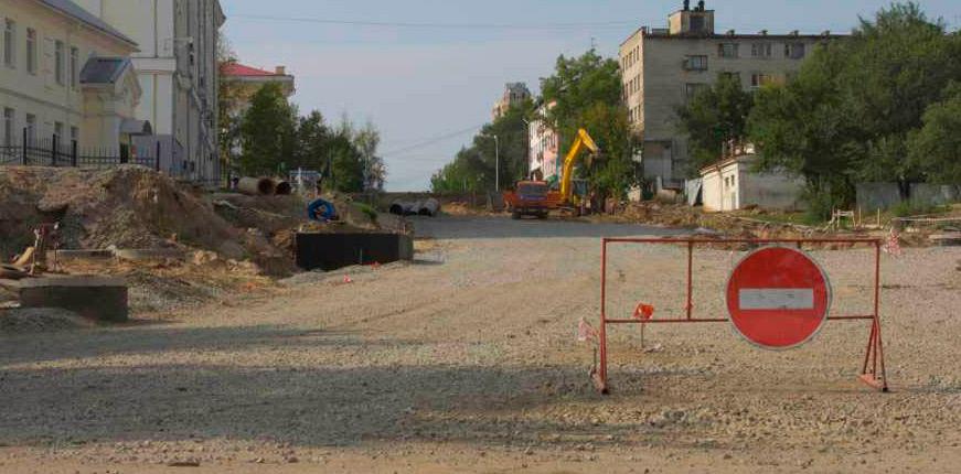 При строительстве скоростной магистрали в Хабаровске использованы геосинтетические материалы