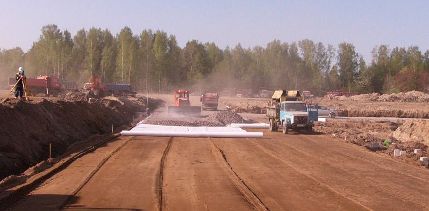 Состав дорожно-строительных работ
