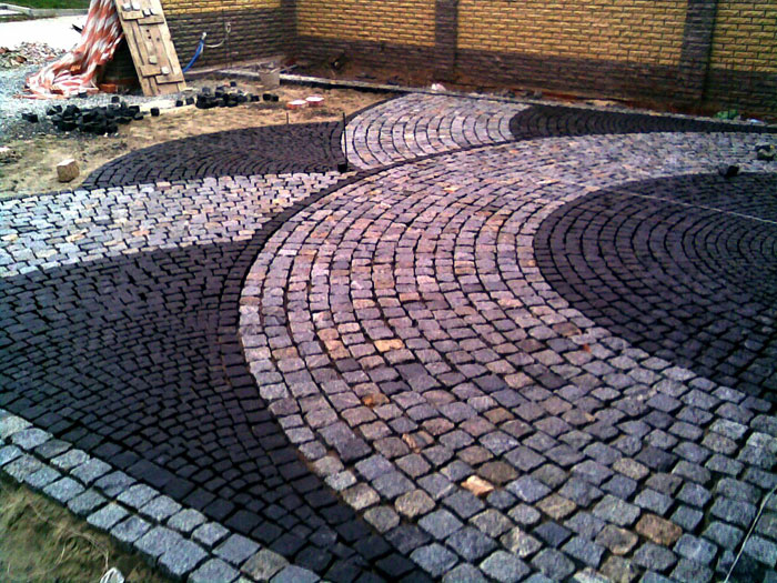 Тротуарная плитка «Кубик»