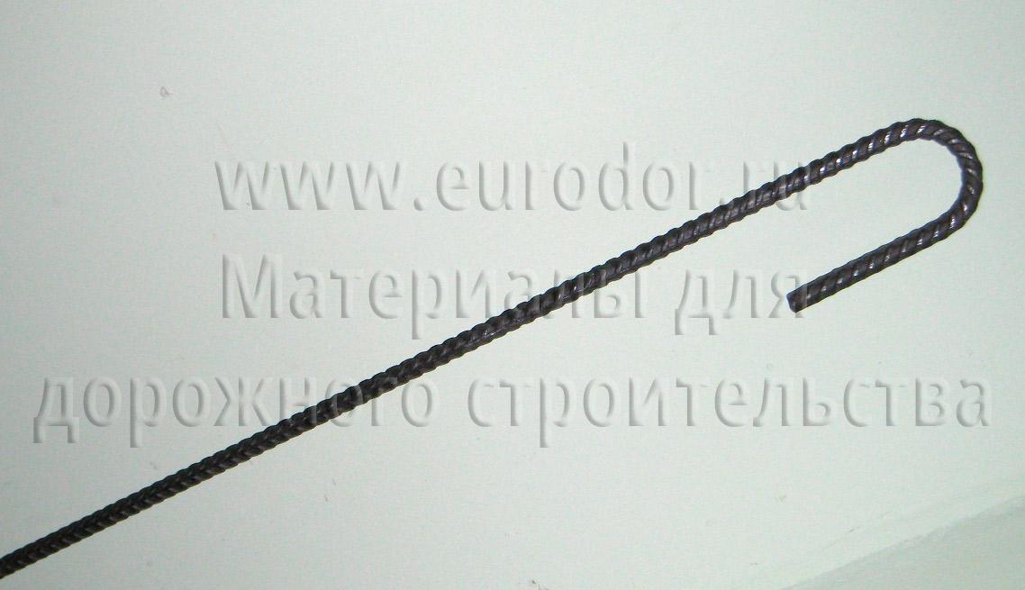 Металлический анкер для крепления георешетки