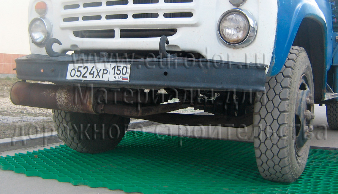Тест экопаркинга грузовым автомобилем