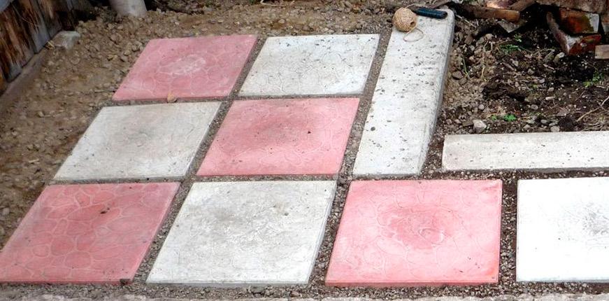 Садовая дорожка из плитки